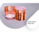 Сладостный функциональный цилиндрический розовый случай хранения подарка картона