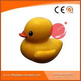 Anatra gialla gonfiabile della tela incatramata del PVC per la sosta dell'acqua di divertimento (T12-219)