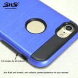Shs aplicó la caja del teléfono con brocha de la armadura de la raya para Huawei P9