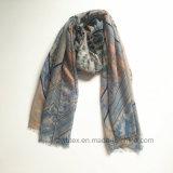 Écharpe en gros bon marché de mode de polyester estampée par Geometic (H7240)