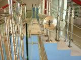 Peças quadradas da balaustrada/escada dos trilhos do aço inoxidável