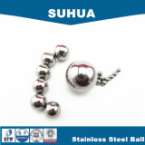 Esfera G40-1000 420 de aço inoxidável da alta qualidade 1/4 '' para a venda
