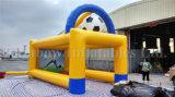 Jogo inflável do tiro do futebol da venda superior, jogos infláveis do esporte do futebol