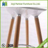 Bester verkaufender eindeutiger Entwurfs-industrieller Stab-Schemel mit den hölzernen Beinen (Bantambaum)