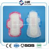 Servilleta sanitaria del algodón barato/toalla sanitaria del acoplamiento