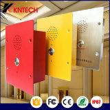 Telefono dell'elevatore del telefono Knzd-11 dell'aeroporto o dell'elevatore del citofono del telefono della metropolitana