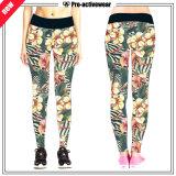 Pantalones atractivos de encargo de los deportes de las mujeres de la ropa