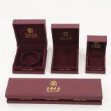 Горячая коробка Jewellery бархата PVC главного качества сбывания пластичная (J51-E1)