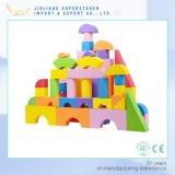 EVA fábrica a la medida del niño Bloque de construcción, ladrillos espuma del juguete para los niños