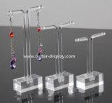 Support acrylique fait sur commande de boucle d'oreille de fabrication