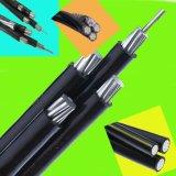 1kv Low Tension Aerial Bundle Cable com Steel Messenger Conductor
