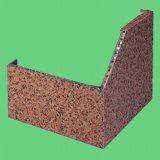 대리석 색깔 알루미늄 벌집 위원회