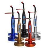Euromarché ! ! ! DEL dentaire corrigeant la lumière sans fil de bleu de la lampe légère 5W 1500MW