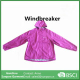 Casaco Windbreaker com logotipo Cusomized