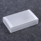 складывая ясная коробка подарка пластичный упаковывать (PVC)
