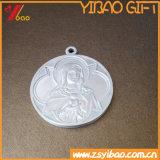 Pièce de monnaie du lotus 3D d'or de qualité de placage (YB-HR-48)