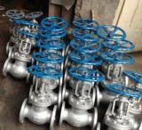 Usine de robinet d'arrêt sphérique normal de norme ANSI de corps d'acier inoxydable de la Chine Wcb