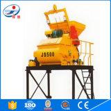 Heißer Verkaufs-große Kapazität mit DoppelBetonmischer-Maschinen-Preis der welle-Js500 in Indien