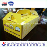 El rectángulo de torta plegable de encargo del papel de imprenta de los productos de China que empaqueta, apelmaza los mejores productos del rectángulo de papel, rectángulo de papel del regalo
