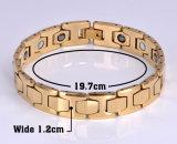 Bracelet d'hématite magnétique de charme à la mode pour unisexe avec du matériel de tungstène