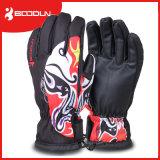 屋外の防水スノーボードのスキー手袋