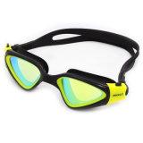 Zwemt de UV Beschermde Mist Met een laag bedekte Kleur Weerspiegelde Lens van 100% Beschermende bril