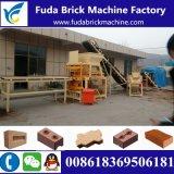 Macchina di collegamento del blocchetto dell'argilla automatica idraulica Qt4-10/macchina del blocchetto Lego del terreno