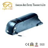 tipo bateria da câmara de ar de 36V 13ah para baixo de lítio para a bicicleta elétrica