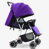 Carrinho de passeio colorido colorido do bebê do impulso de alta qualidade (ly-a-11)