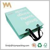 Venda por atacado de empacotamento do saco da roupa feita sob encomenda de primeira qualidade do Livro Branco