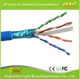 23AWG бескислородный кабель кабеля CAT6 UTP сети меди 305m
