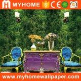 Papel pintado natural de la sala de estar del paisaje para las paredes