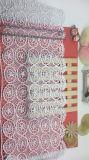 Neue Breiten-Stickerei-Zutat Nyron Spitze der Entwurfs-Form-20.5cm für Kleider u. Hauptgewebe u. Vorhänge