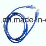 Kategorie 5e LAN-Kabel mit kupfernem Leiter-Plattfisch-Durchlauf ETL
