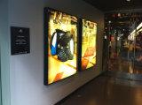 Casella chiara esterna di Frameless LED del tessuto di Seg per la pubblicità della visualizzazione