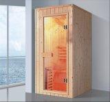 sauna di legno solido di rettangolo di 900mm per la singola persona (AT-8631)