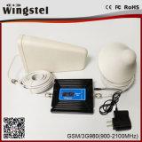 Aumentador de presión de la señal del teléfono móvil del G/M 2g WCDMA 3G de la alta calidad