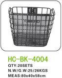 鋼鉄バイクのバスケットLC-B017