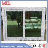 Reflectante de cristal de vinilo ventana deslizante para los calurosos meses de verano