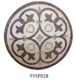 Mattonelle di pavimento della moquette del mosaico della pietra del marmo del getto di acqua (FYSP017)