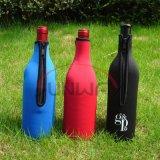 Bolso del sostenedor de botella de vino del neopreno, funda de Koozie del refrigerador de la botella de cerveza (BC0006)