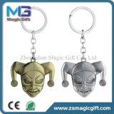 Clown Keychain des Qualitäts-voller Metall3d mit Messingüberzug