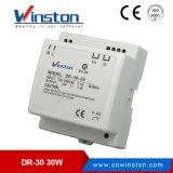LÄRM Schienen-Ein-Outputschaltungs-Stromversorgung mit Cer (DR-30W-5 DR-30-12 DR-30-15 DR-30-24)