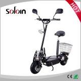 Bicicleta elétrica Foldable do aço de alta elasticidade de 2 rodas (SZE500S-4)