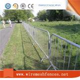 La cerca de la barricada/el regulador de la muchedumbre/galvanizó el PVC cantó las barreras del control
