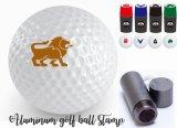 Sellos de aluminio de la pelota de golf en muchos colores vivos de la tinta