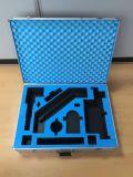 Caja de herramientas de aluminio dura bloqueable del precio de fábrica con la espuma azul (KeLi-Tool-1717)