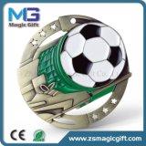 Médaille personnalisée populaire du match de football 3D