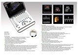 Популярная машина Mslcu12A ультразвука Doppler цвета компьтер-книжки 2D/3D