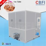Prodotto 1-10 tonnellate di ghiaccio commestibile del cubo dalla fabbrica di macchina del cubo di ghiaccio